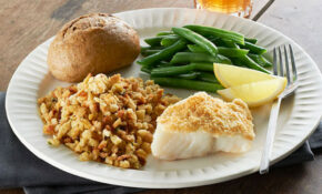 Easy Parmesan Crusted Fish Dinner – Kraft Recipes – Fish Recipes Dinner