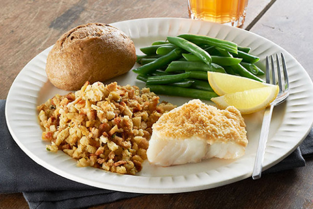 Easy Parmesan-Crusted Fish Dinner - Kraft Recipes - fish recipes dinner