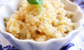 Easy Parmesan Risotto – Healthy Risotto Recipes