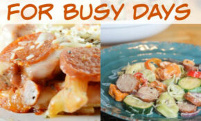 Easy Pasta Dinner Recipes – Oh My Creative – Recipes Dinner Pasta