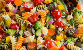 Easy Pasta Salad Recipe (The Best!) – Cooking Classy – Recipes Of Salads Vegetarian