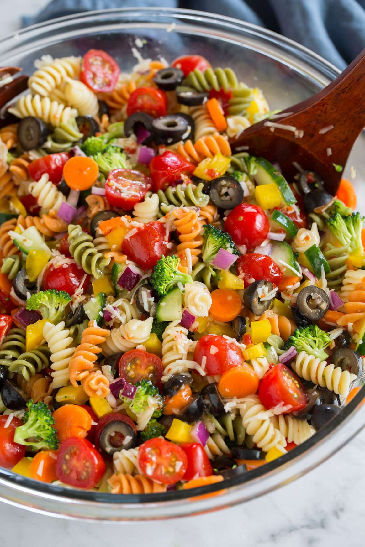 Easy Pasta Salad Recipe (The Best!) - Cooking Classy - Recipes Of Salads Vegetarian