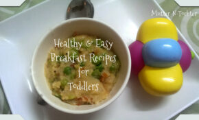 Easy Peasy Healthy Breakfast Recipes For One Year Olds ..