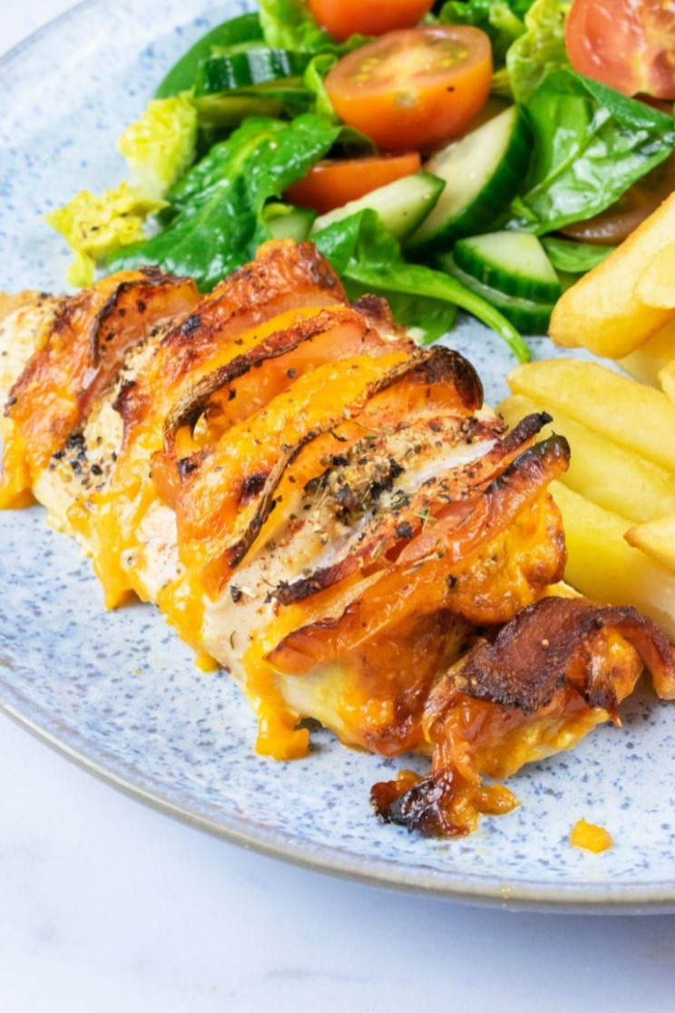 Easy Peasy Syn Free Hasselback Chicken - Slimming World Recipes Dinner