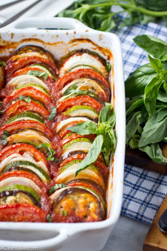 Easy Ratatouille Recipe (Vegan, Gluten Free, Freezable ..