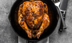 Easy Roasted Chicken + VIDEO | Platings + Pairings – Chicken Recipes Cast Iron