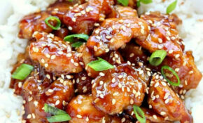 Easy Sesame Chicken Recipe – Crunchy Creamy Sweet – Chicken Recipes At Home