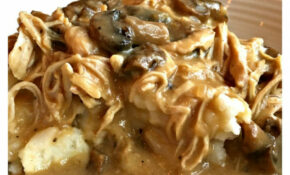 Easy Slow Cooker Smothered Chicken – Sweet Little Bluebird – Easy Slow Cooker Recipes Chicken