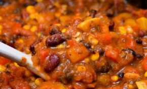 Easy Slow Cooker Vegetarian Chili – Recipes For Vegetarian Chili