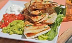 Easy Smoked Chicken Cheese Quesadilla Recipe | Divas Can Cook – Chicken Quesadilla Recipes