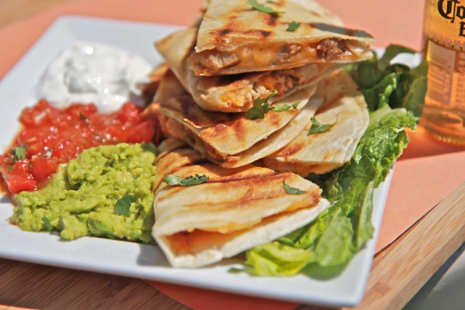 Easy Smoked Chicken Cheese Quesadilla Recipe | Divas Can Cook - chicken quesadilla recipes