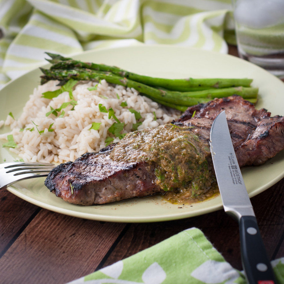 Easy Strip Loin Steaks On The BBQ - Food Recipes You Can Make At Home