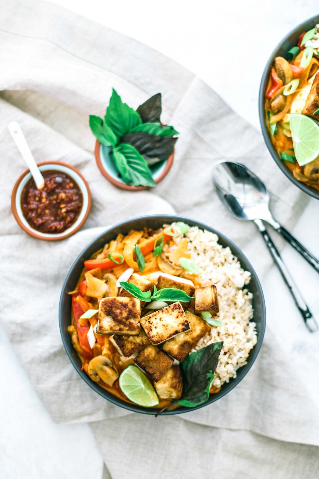 Easy Thai Red Curry With Tofu - recipes for thai food