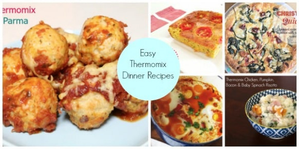 Easy Thermomix Dinners - Thermobliss - Thermomix Recipes Dinner