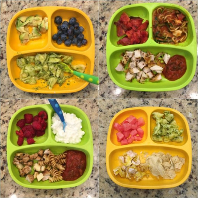 Easy Toddler Meal Ideas - August | Kid food | Easy toddler ..