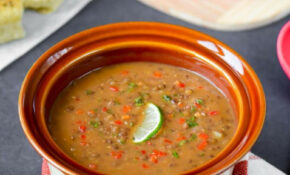 Easy Vegan French Lentils Soup In Pressure Cooker Recipe ..
