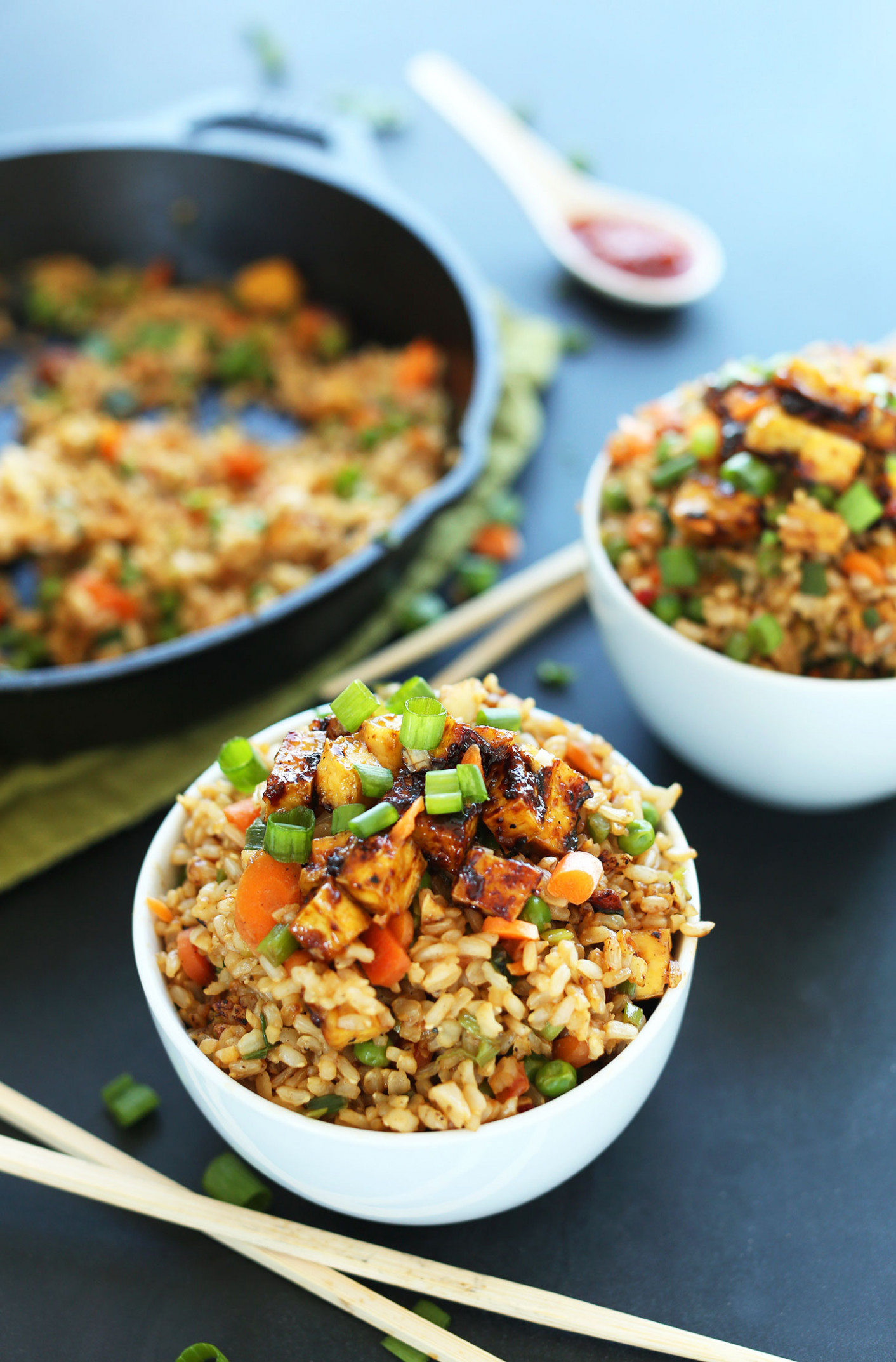 Easy Vegan Fried Rice - recipes easy dinner for two