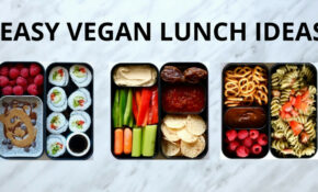 EASY VEGAN LUNCH IDEAS (BENTO BOX) – Vegetarian Japanese Bento Box Recipes
