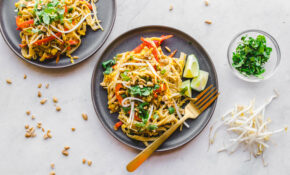 Easy Vegan Pad Thai (in 12 Minutes!) – From My Bowl – Vegan Dinner Recipes Uk