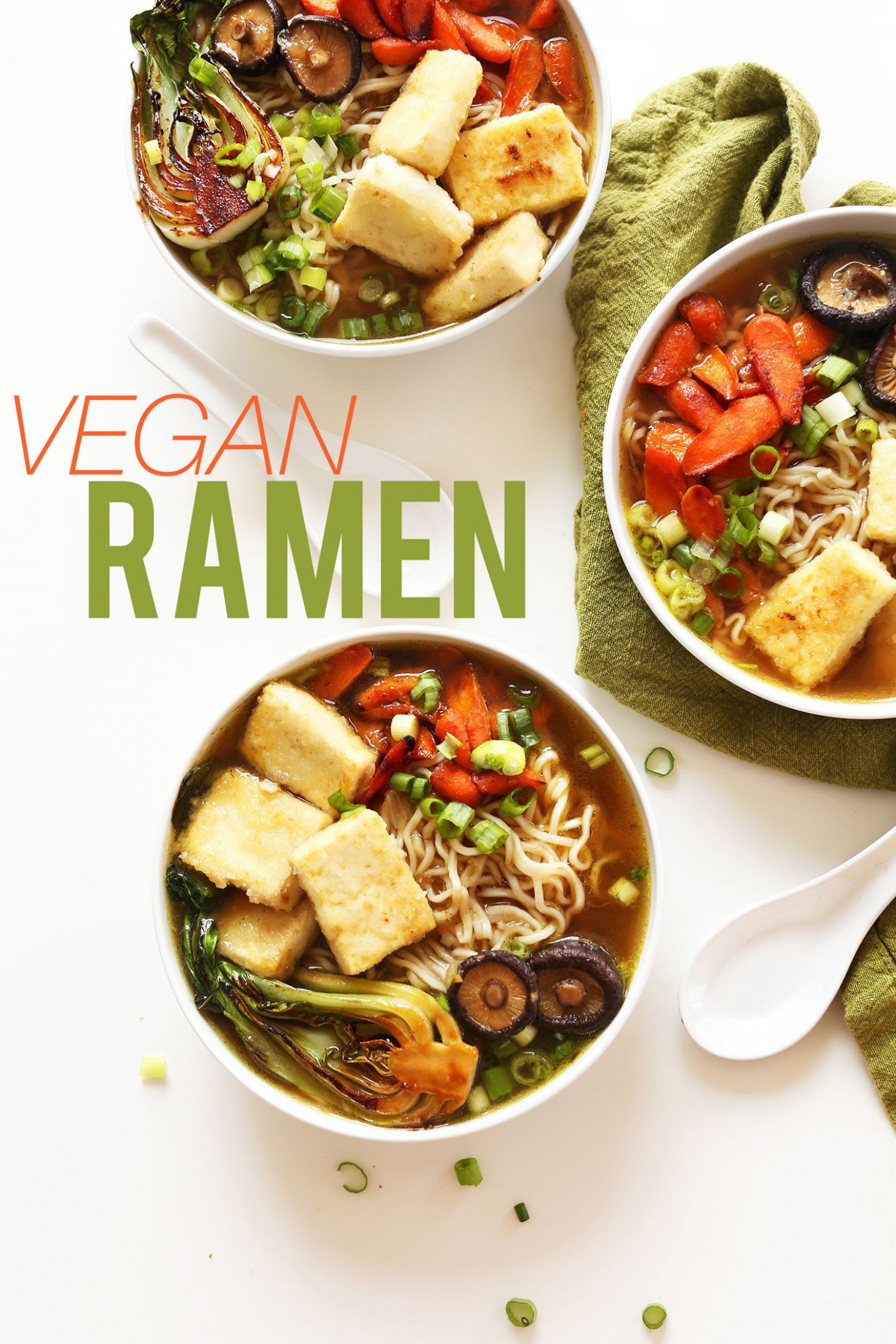 Easy Vegan Ramen | Recipe | Ramen, Soups And Vegan Meals - Recipes Easy Vegetarian