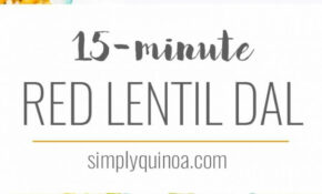 Easy Vegan Red Lentil Dal - Simply Quinoa