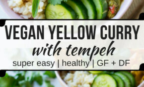 Easy Vegan Yellow Curry with Tempeh | Nourish Every Day