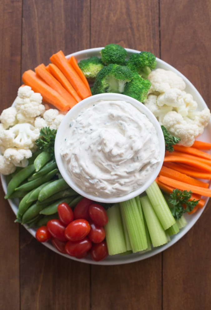 Easy Vegetable Dip Recipe - Tastes Better From Scratch - recipes veggie dip