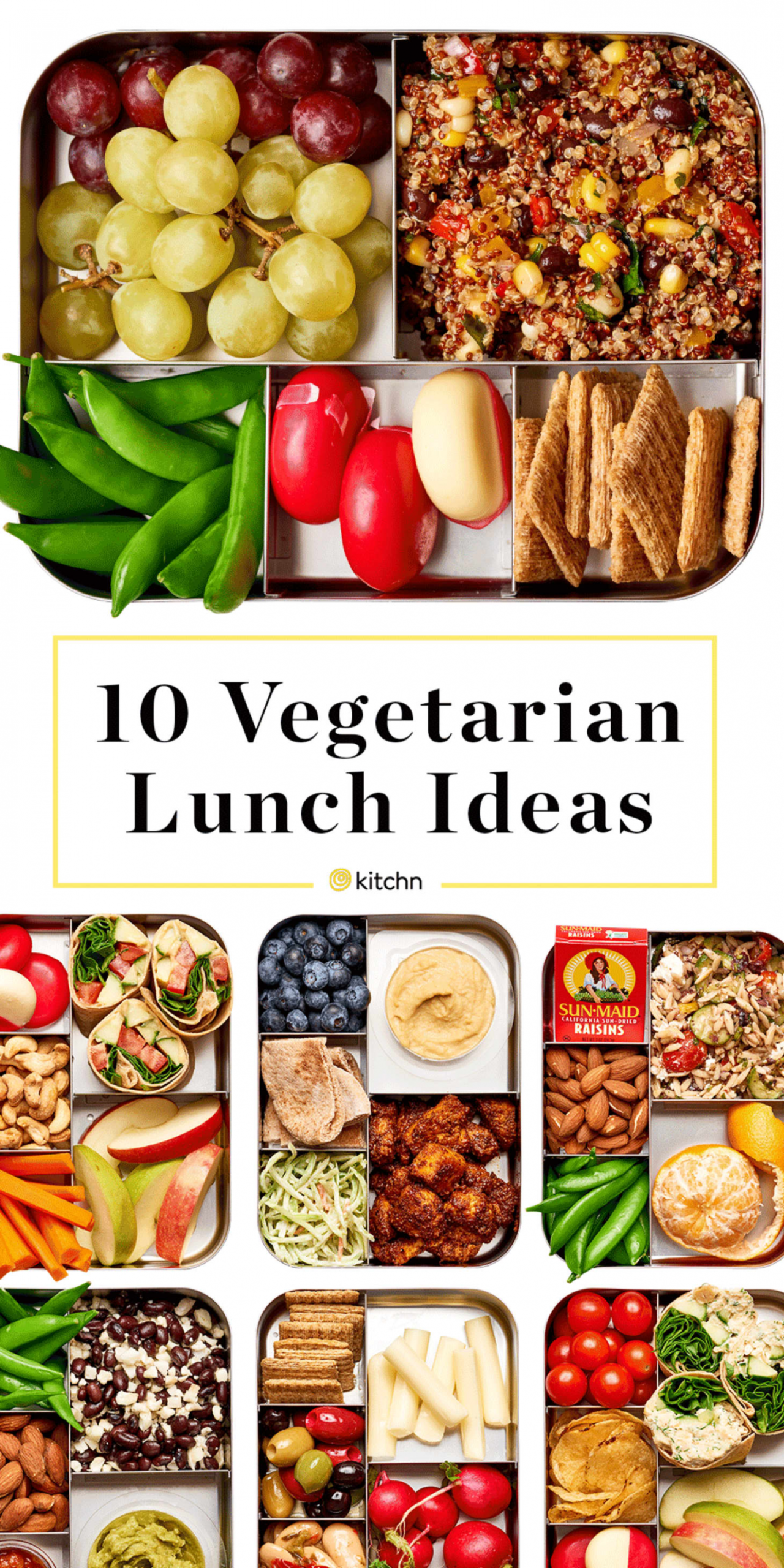 Easy Vegetarian Lunch Ideas | Kitchn - quick lunch recipes vegetarian
