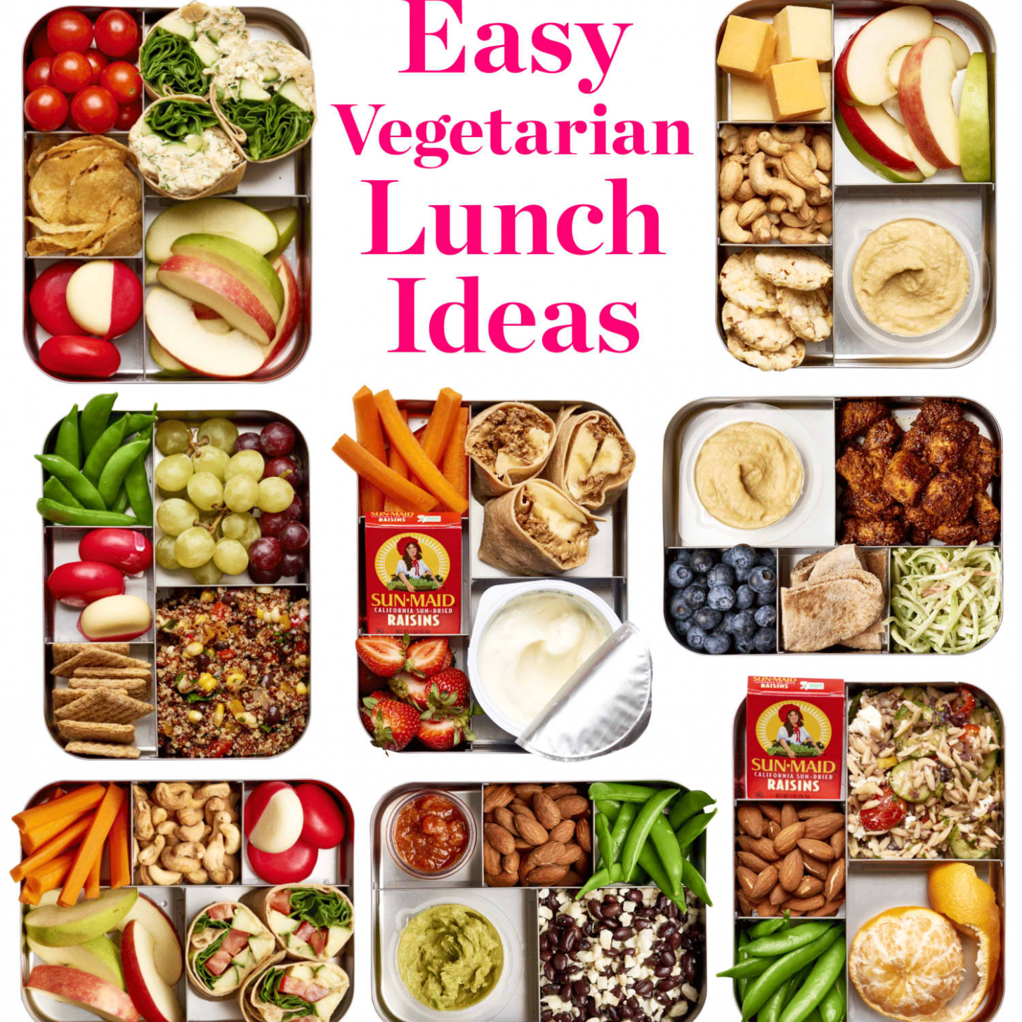 Easy Vegetarian Lunch Ideas | Kitchn - recipes quick and easy vegetarian