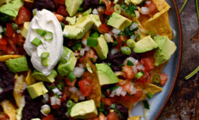 Easy Vegetarian Microwave Nachos – Recipes Easy Vegetarian