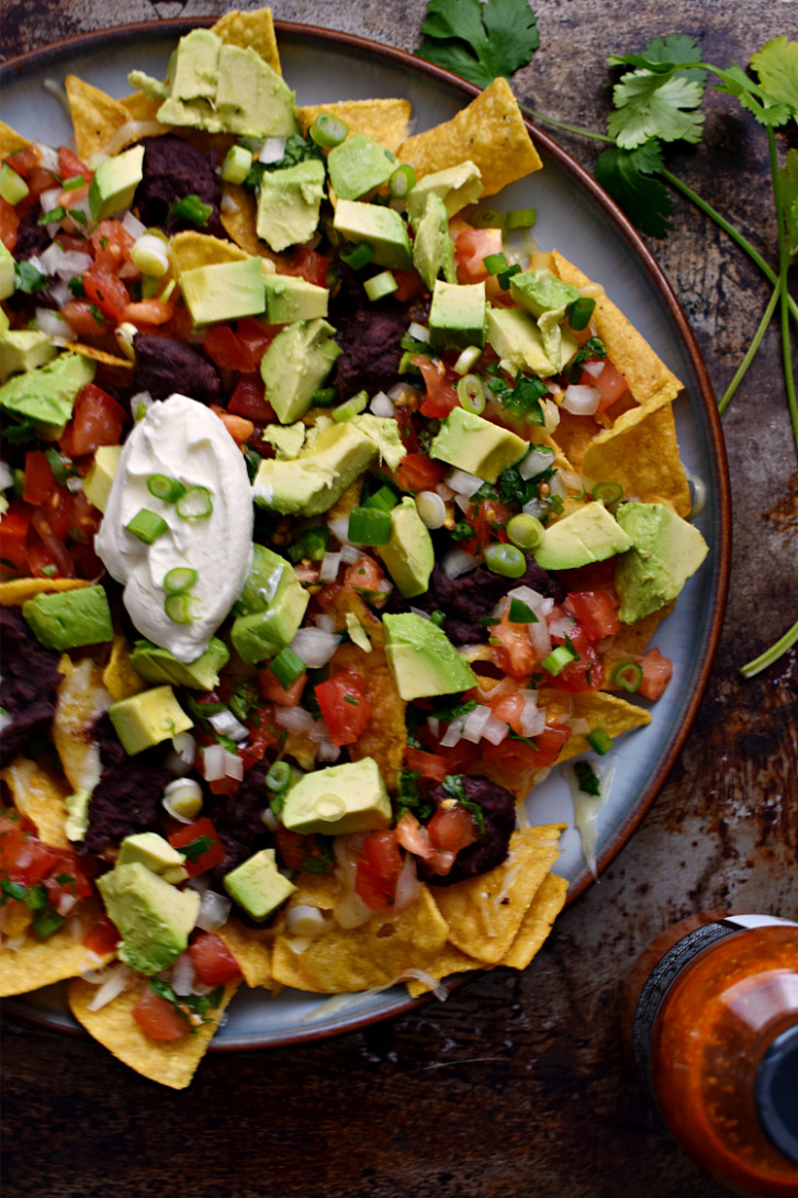 Easy Vegetarian Microwave Nachos - recipes easy vegetarian