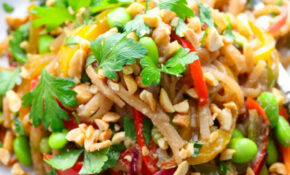 Easy Vegetarian Pad Thai – Noodle Recipes Vegetarian