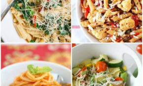 Easy Vegetarian Pasta Recipes – Healthy Pasta Recipes Vegetarian
