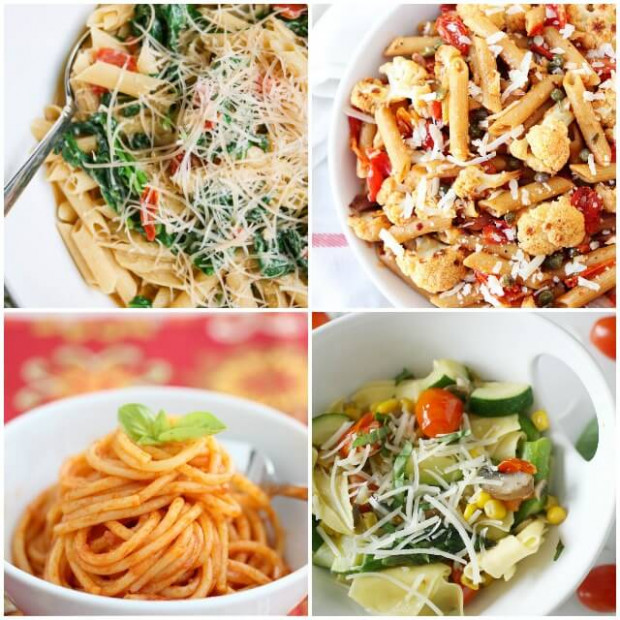 Easy Vegetarian Pasta Recipes - Healthy Pasta Recipes Vegetarian