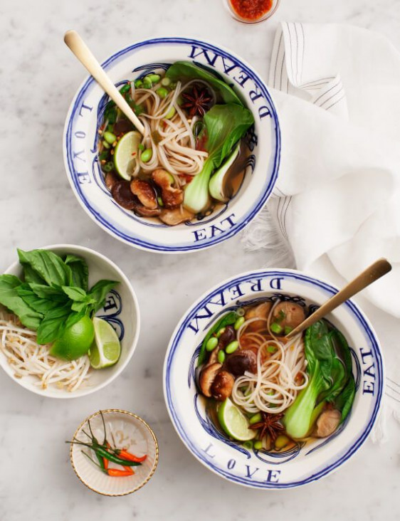 Easy Vegetarian Pho | Recipe | **Meatless Recipes | Soup ..