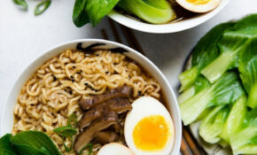 Easy Vegetarian Ramen | Receta | Korean Food | Vegetarian ..