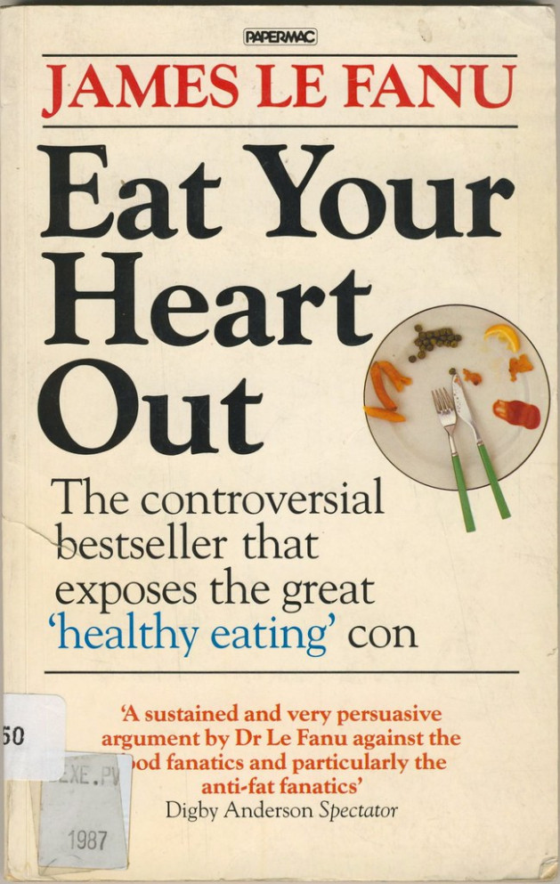 Eat your heart out by James Le Fanu - red wine recipes vegetarian