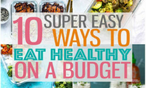 Eating Healthy On A Budget + 12 Cheap Dinner Ideas – The ..