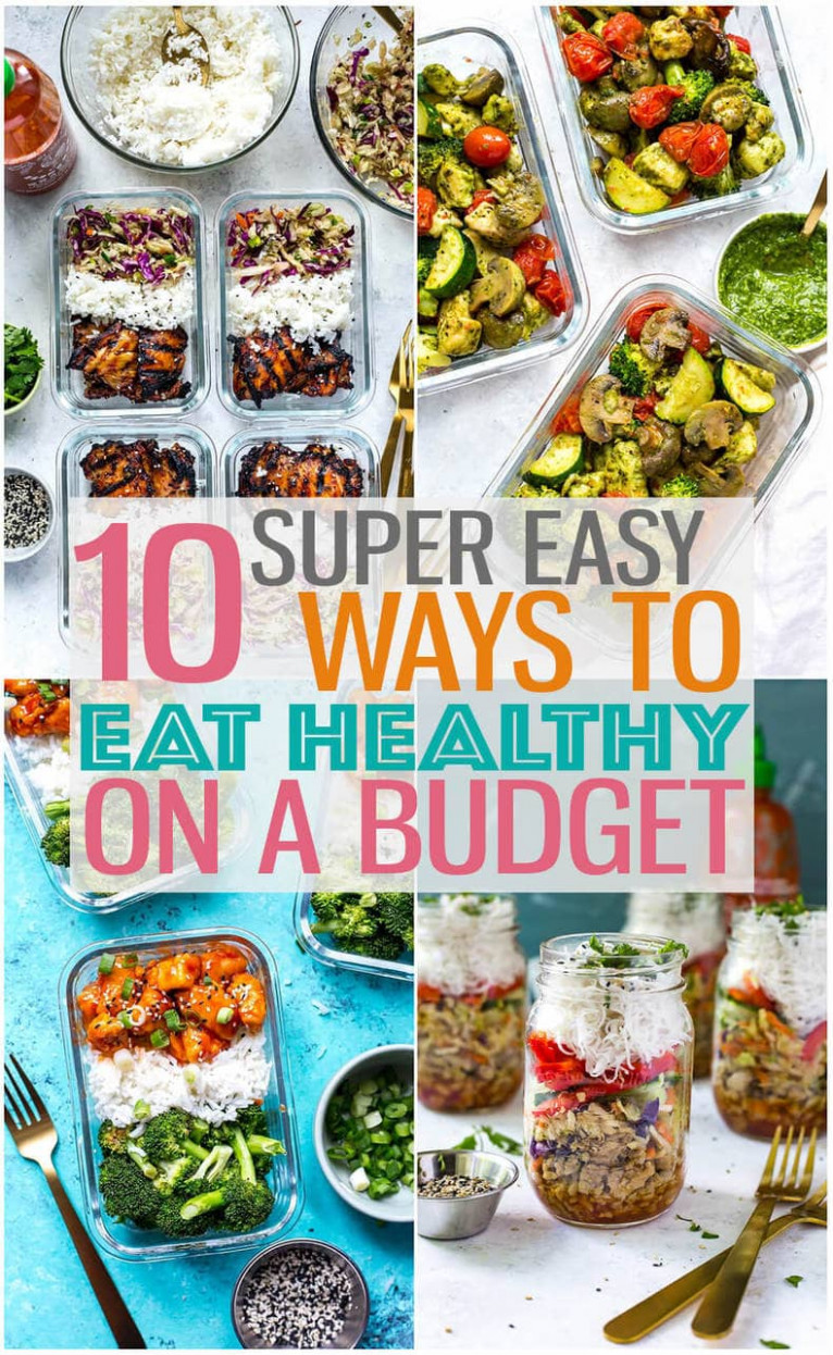 Eating Healthy on a Budget + 12 Cheap Dinner Ideas - The ..