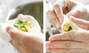 Egg And Chive Vegetarian Dumplings | Ahead Of Thyme – Recipe Vegetarian Dumplings Chinese