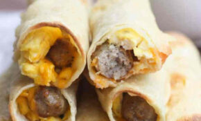 Egg And Sausage Breakfast Taquitos | – Tastes Better From ..