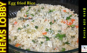Egg Fried Rice Recipe In Tamil | How To Make Egg Fried Rice ..