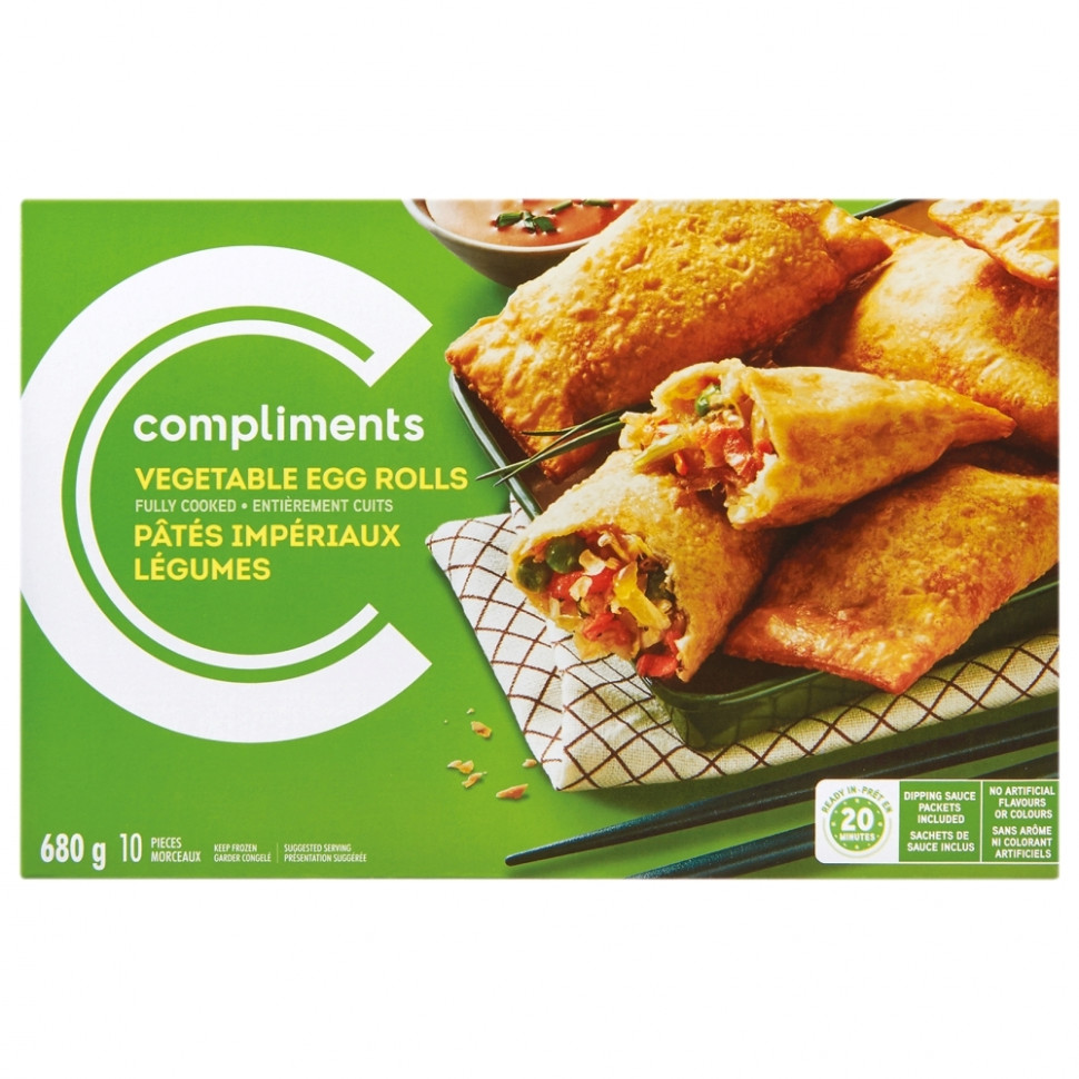 Egg Rolls - recipe vegetarian egg rolls