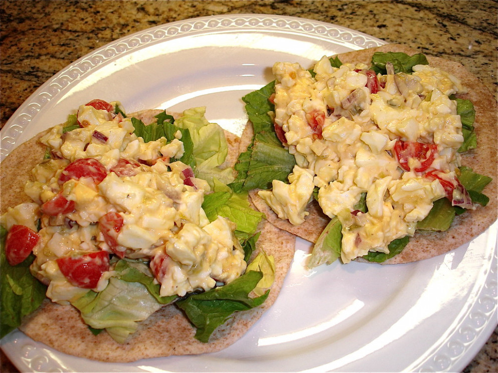 Egg Salad - healthy recipes to gain weight