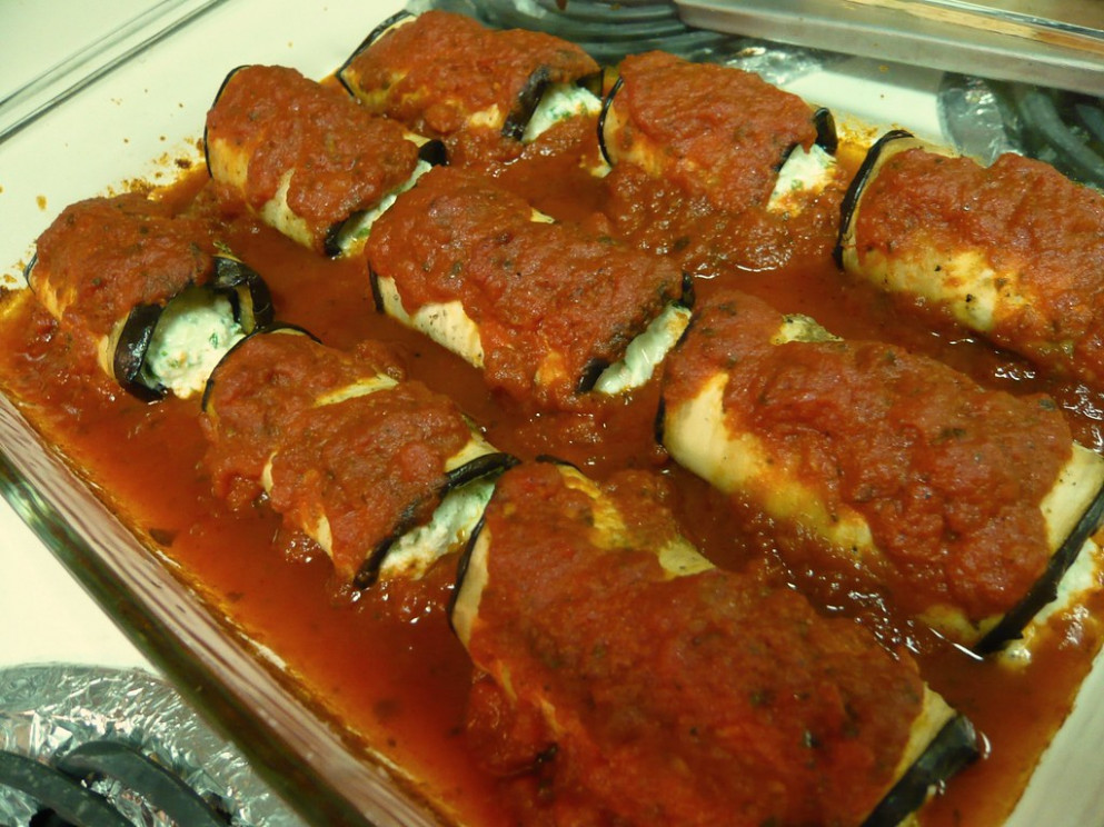 Eggplant Manicotti - Food Recipes Delivery
