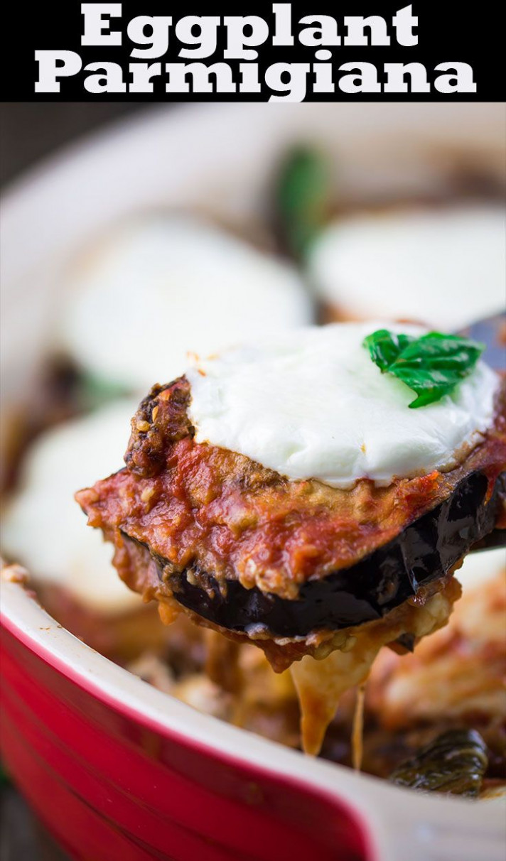 Eggplant Parmigiana Recipe | The Mediterranean Dish. Easy ..