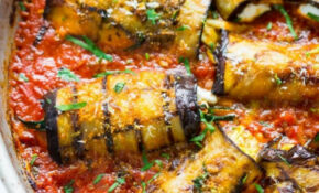 Eggplant Rollatini Recipe,international Cuisine,Side Dish – Quick Healthy Eggplant Recipes