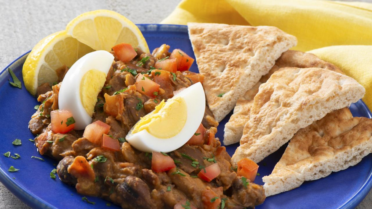 Egyptian Fava Bean Foole - recipes egyptian food