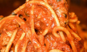 Electric Pressure Cooker Spaghetti With Homemade Meatballs ..