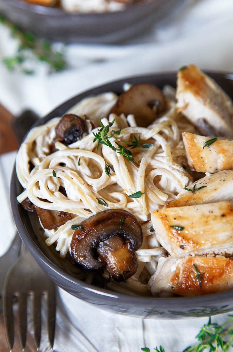 Engagement Chicken Pasta for Two - Romantic Dinner for Two - romantic recipes dinner